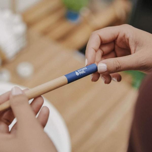 Bambus Zahnbürste - Blau