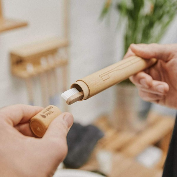 Bambus Zahnbürsten Etui