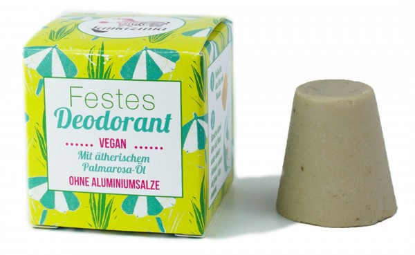 Festes Deodorant mit Palmrosa-Öl