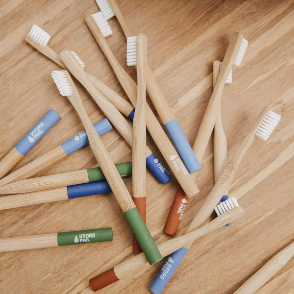 Bambus Zahnbürste - Grün