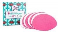 Ökologische Abschminkpads - Pappelbox mit 10 Pads & Wäschesäckchen